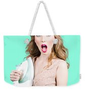 Burning Hot Fashion Weekender Tote Bag