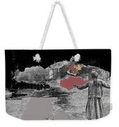 Burning House Destroyed By The Ss Soviet Union Number One 1941 Color Added 2016 Weekender Tote Bag
