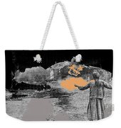Burning House Destroyed By The Ss Soviet Union Number Two 1941 Color Added 2016 Weekender Tote Bag