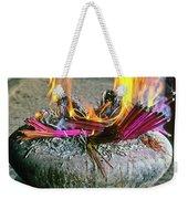 Burning Joss Sticks Weekender Tote Bag