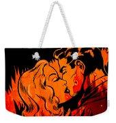 Burning Kiss Of Fire Weekender Tote Bag