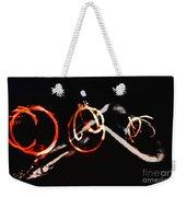 Burning Rings Of Fire Weekender Tote Bag