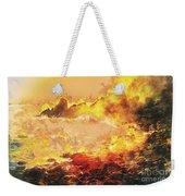 Burning Shore Weekender Tote Bag