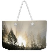 Burning Through The Fog Weekender Tote Bag