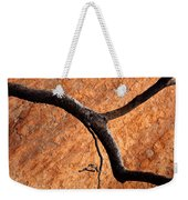 Burnt Orange Weekender Tote Bag