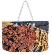 Burnt Orange Wave Of Sandstone In Valley Of Fire Weekender Tote Bag