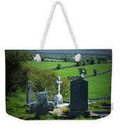 Burren Crosses County Clare Ireland Weekender Tote Bag