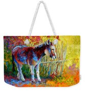 Burro And Bouganvillia Weekender Tote Bag