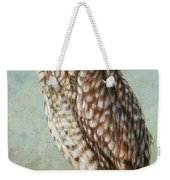Burrowing Owl Weekender Tote Bag by James W Johnson