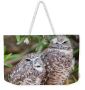 Burrowing Owl Pair  Weekender Tote Bag