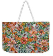 Burst Of Flowers Weekender Tote Bag