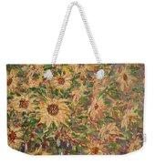 Burst Of Sunflowers. Weekender Tote Bag