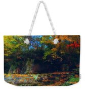 Bursting Autumn Cheer Weekender Tote Bag