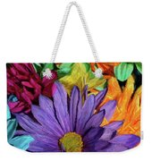 Bursting Colors Weekender Tote Bag