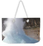 Bursting Water Bubble At Onset Weekender Tote Bag