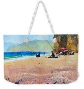 Burton Bradstock Beach Weekender Tote Bag