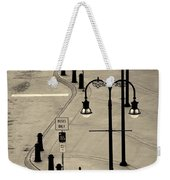 Bus Stop In Nashville Tn Weekender Tote Bag