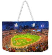 Busch Stadium At Night Rocks Weekender Tote Bag