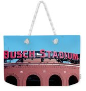 Busch Stadium Ball Park Weekender Tote Bag