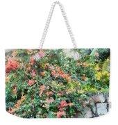 Bush Full Of Flowers. Weekender Tote Bag