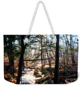 Bushkill Falls Weekender Tote Bag