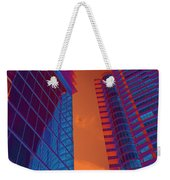 Business Travel, Architectural Abstract Weekender Tote Bag