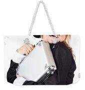 Business Woman In Disguise Weekender Tote Bag