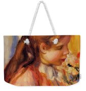 Bust Of A Young Girl Weekender Tote Bag