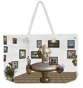 Bust Of The Spirit Of Einstein Weekender Tote Bag