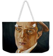 Buster Keaton Tribute Weekender Tote Bag