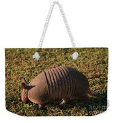 Busy Armadillo Weekender Tote Bag