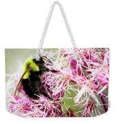 Busy As A Bumblebee Weekender Tote Bag