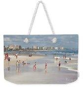 Busy Beach Day Weekender Tote Bag