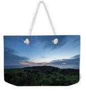 Busy Boats At Blue Hour Weekender Tote Bag
