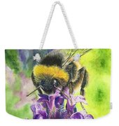 Busy Bumblebee Weekender Tote Bag