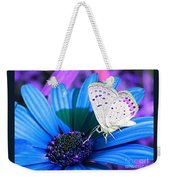 Busy Little Butterfly Weekender Tote Bag