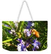 Busy Rosemary Honeybee Weekender Tote Bag