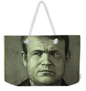 Butch Cassidy Weekender Tote Bag by James W Johnson