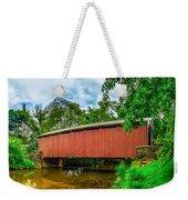 Butchers Mill Covered Bridge Weekender Tote Bag