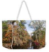 Butler Creek In Autumn Colors Weekender Tote Bag