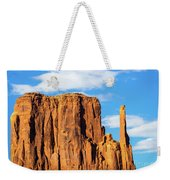 Butte And Clouds Weekender Tote Bag
