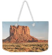 Butte, Monument Valley, Utah Weekender Tote Bag