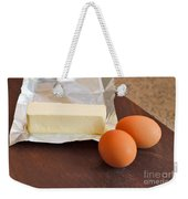 Butter And Eggs Weekender Tote Bag
