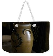 Butter Churn On Hearth Still Life Weekender Tote Bag