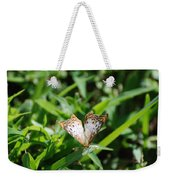 Butter Fly Weekender Tote Bag