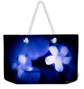 Buttercups In White Blue And Black Weekender Tote Bag