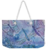 Butterflies And Dragonflies Weekender Tote Bag