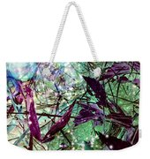 Butterflies At Night  Weekender Tote Bag