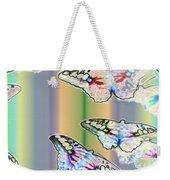 Butterflies In The Vortex Weekender Tote Bag