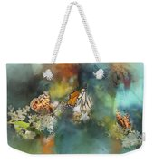 Butterflies On A Spring Day Weekender Tote Bag